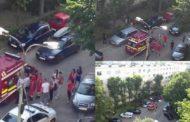 Elev din Pitești, BĂTUT de un locatar nervos în fața blocului