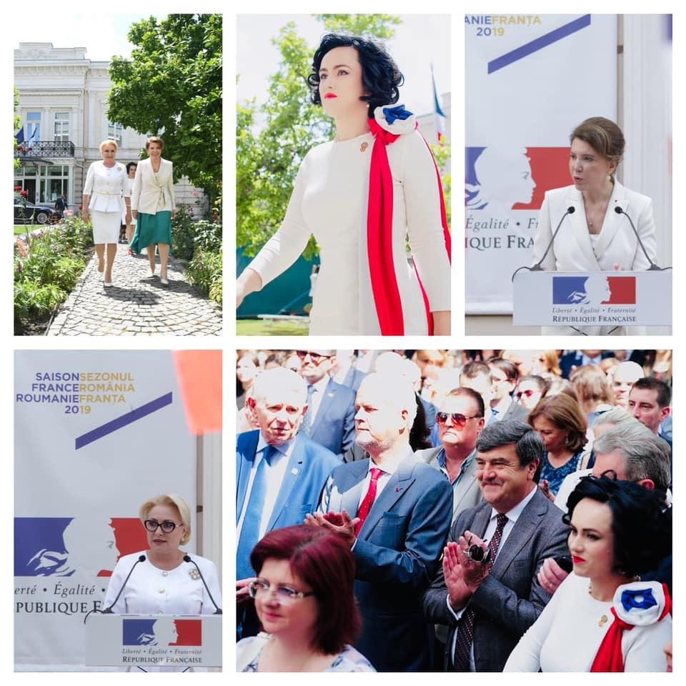 Simona Bucura Oprescu, prezentă la Ziua Naţională a Franţei