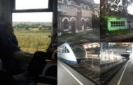 Cu trenul în miez de noapte pe ruta Pitești - Craiova - Tg. Jiu