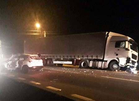 Agenți de pază RĂNIȚI în accident la Bascov!