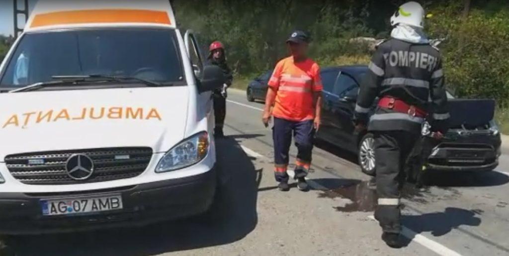 Gravida a provocat un grav accident la Piscani!