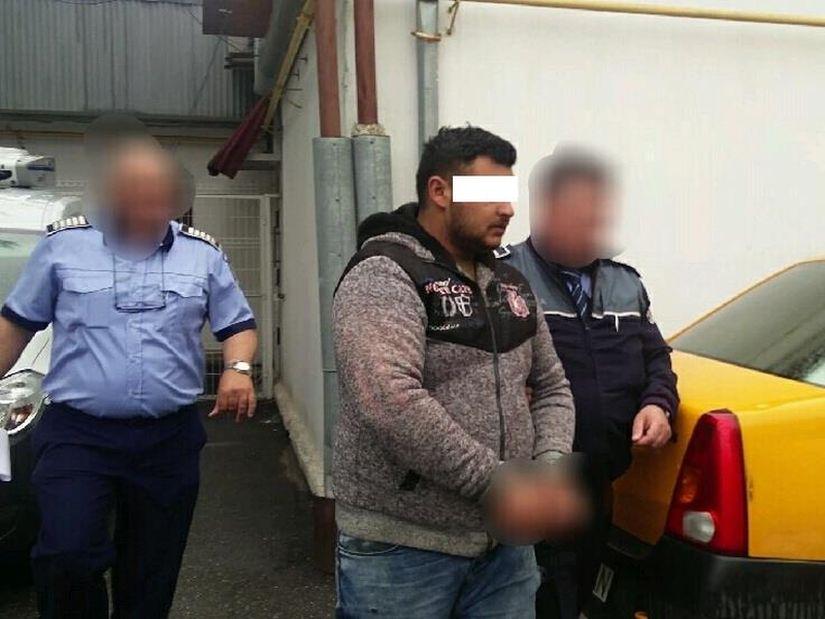 Prins fără permis, a fost arestat