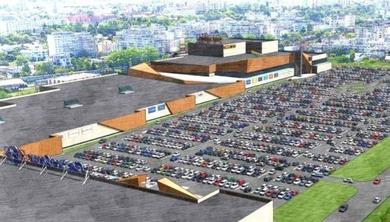 Mall-ul din Tudor Vladimirescu începe cu construcția PASAJULUI RUTIER!