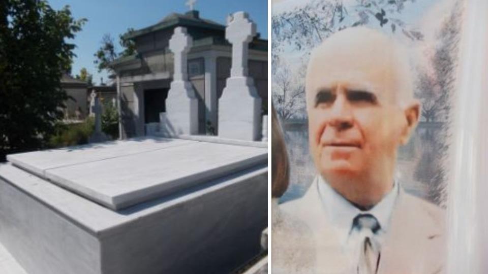 Mormântul celui mai bogat pensionar din România, la Pitești!