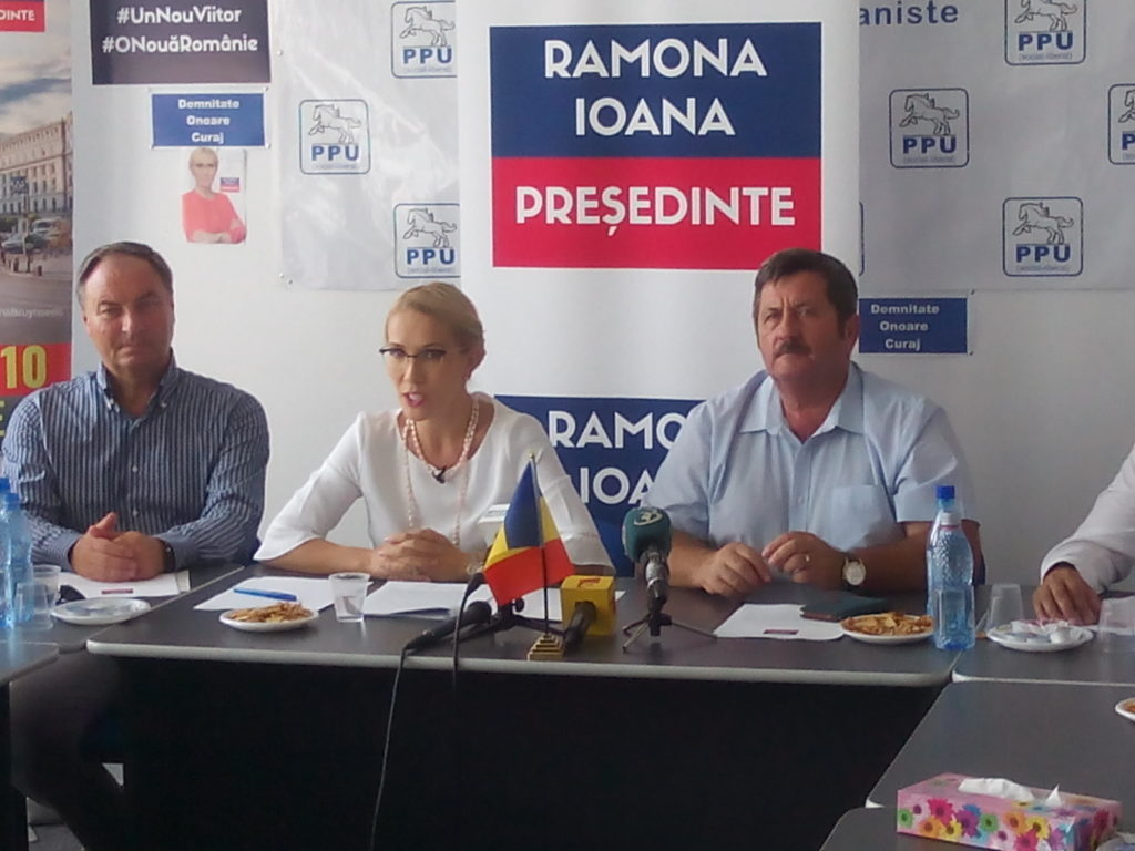 Ramona Ioana, o FEMEIE la prezidențiale!