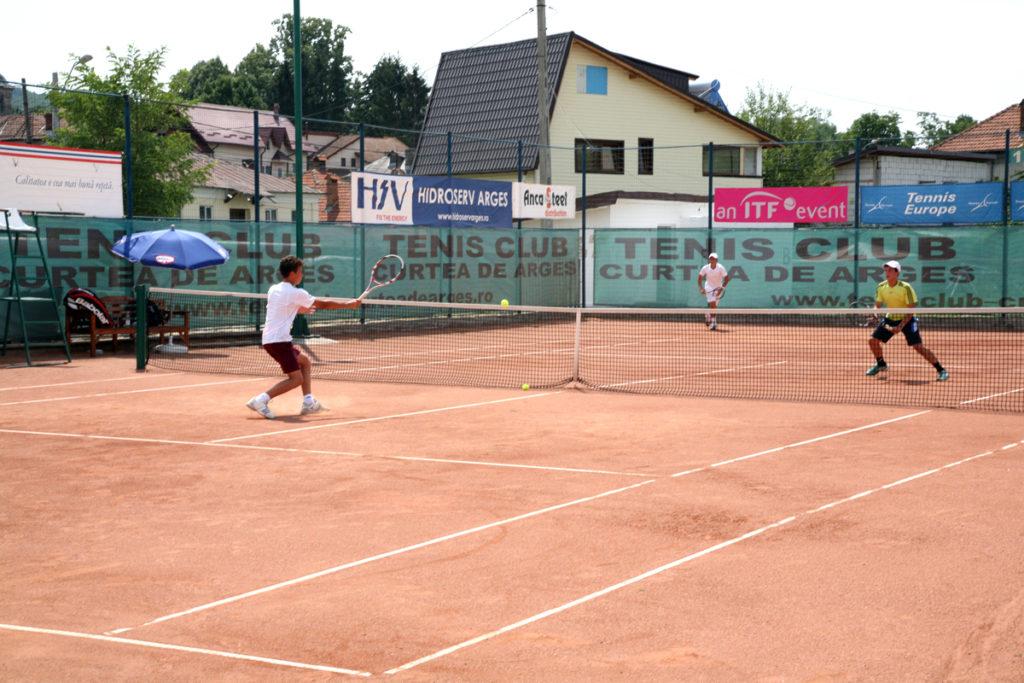Curtea de Argeș, capitala tenisului!