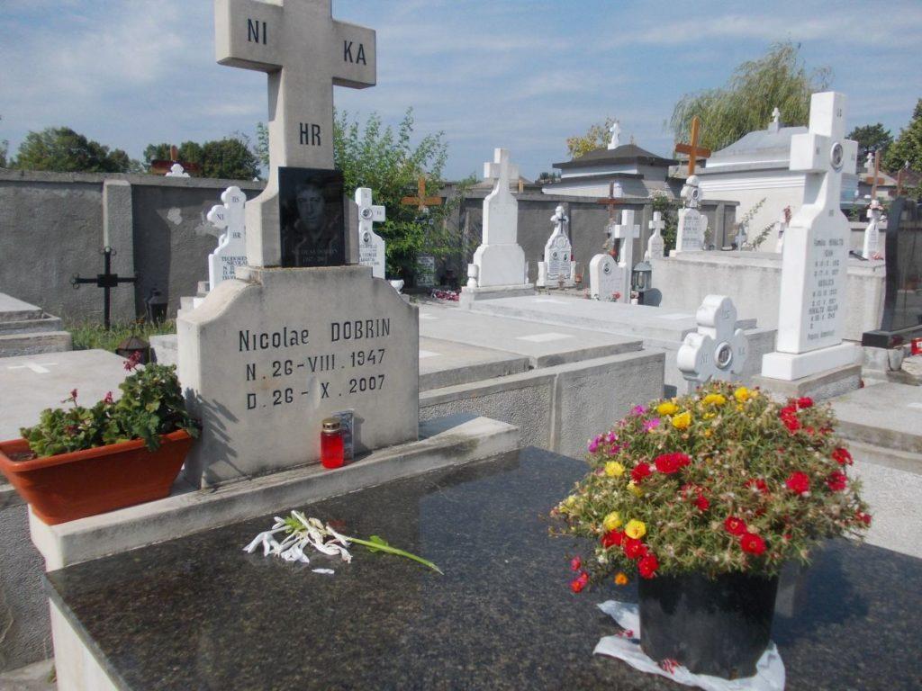 La comemorarea lui Dobrin, o lumânare şi un crin...
