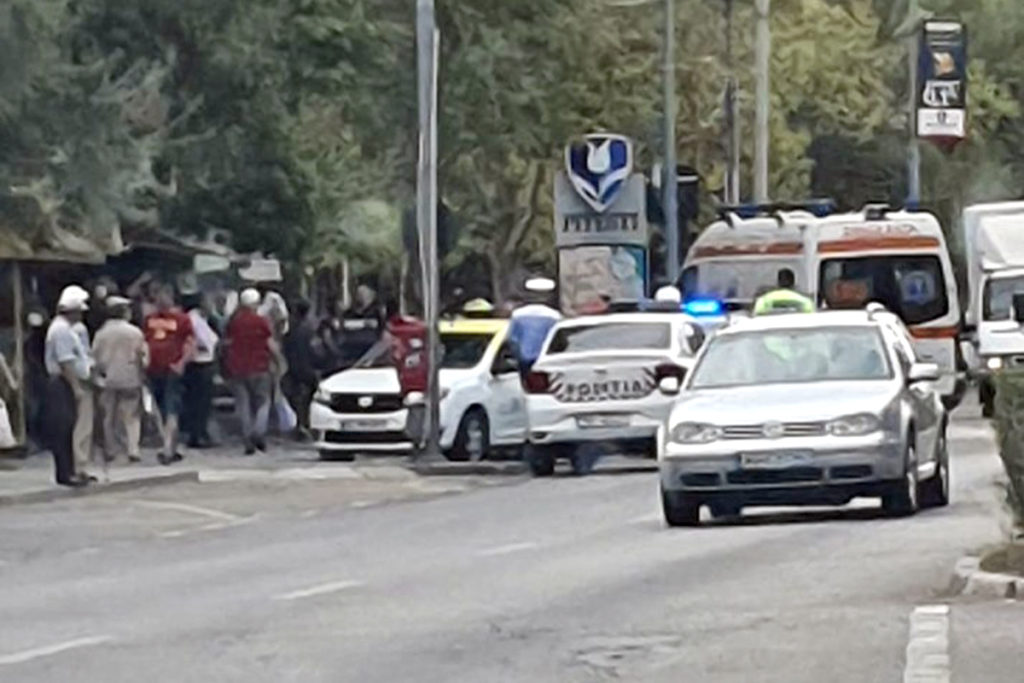 Martor la accident pe Calea Craiovei