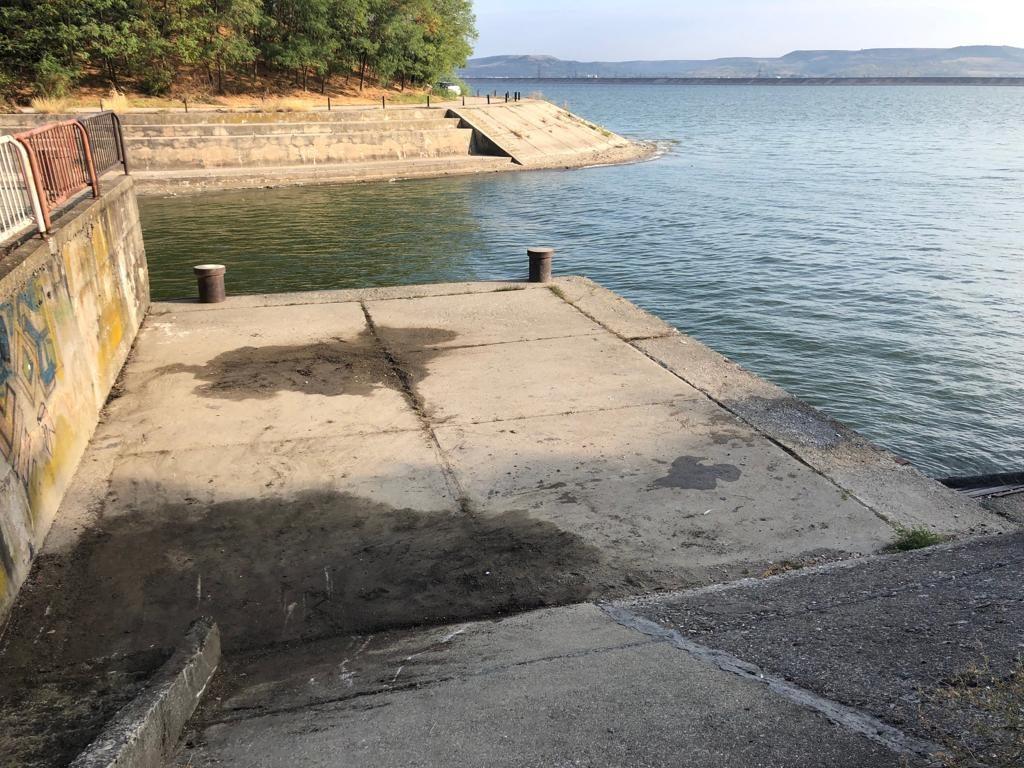 Lucrări de punere în siguranță a barajului Golești