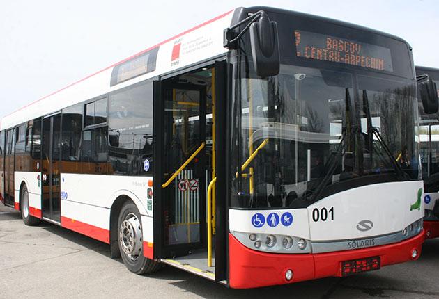 Trasee de autobuz deviate la Piteşti