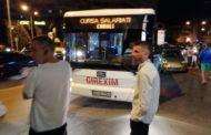 Autobuz pentru transportul salariaţilor Caroli, implicat într-o tamponare în Piteşti