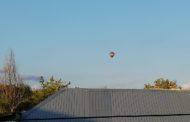 Balon URIAŞ lansat pe cer la Moşoaia!