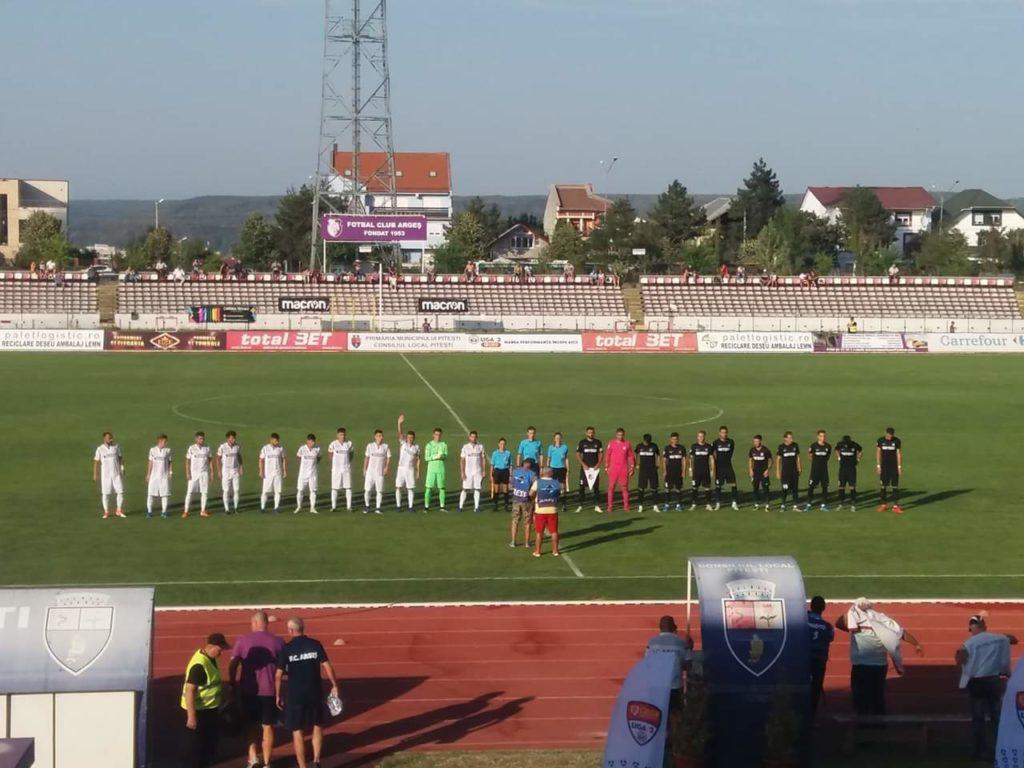 FC Argeș a învins, dar nu a convins
