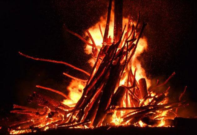 Pompierii, cu ochii pe focurile sumedriene