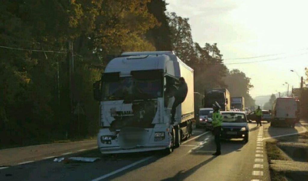 Au blocat traficul pe DN7