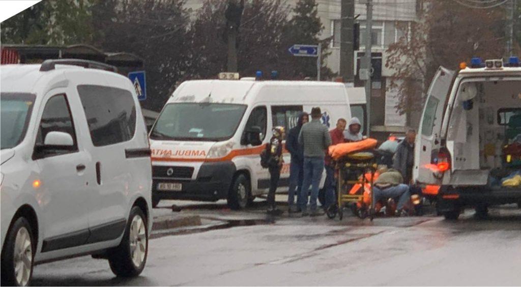 UPDATE - ACCIDENT PE ZEBRĂ, CU 3 MINORE ÎN PITEȘTI, LÂNGĂ LIDL EXERCIȚIU