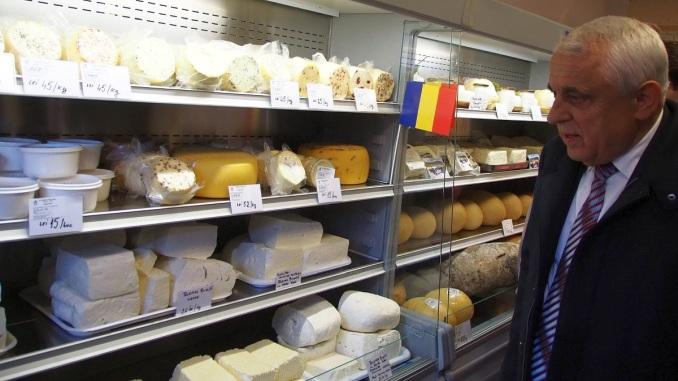 Petre Daea deschide brânzărie la Pitești