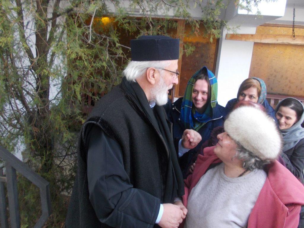 ÎPS Calinic voia să părăsească mănăstirea, Sf. Filoteea l-a oprit!