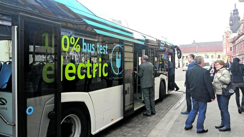 Pe ce rute vor circula autobuzele electrice