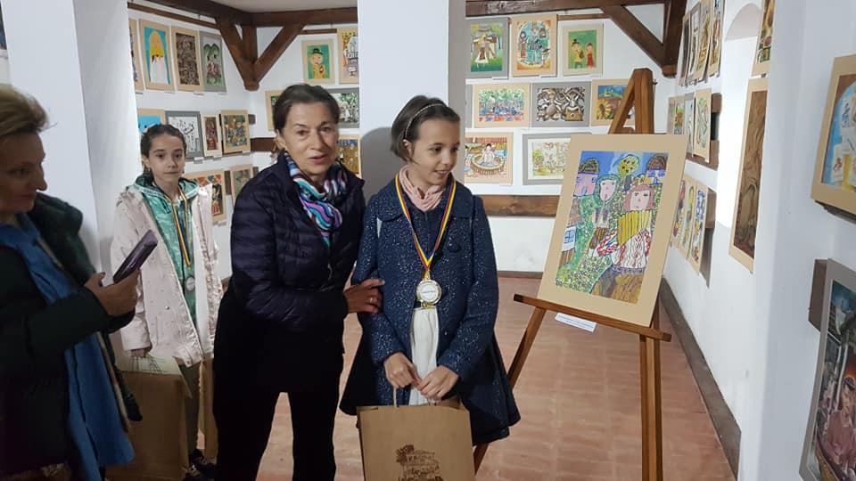 Micii pictori, premiaţi la Muzeul Goleşti