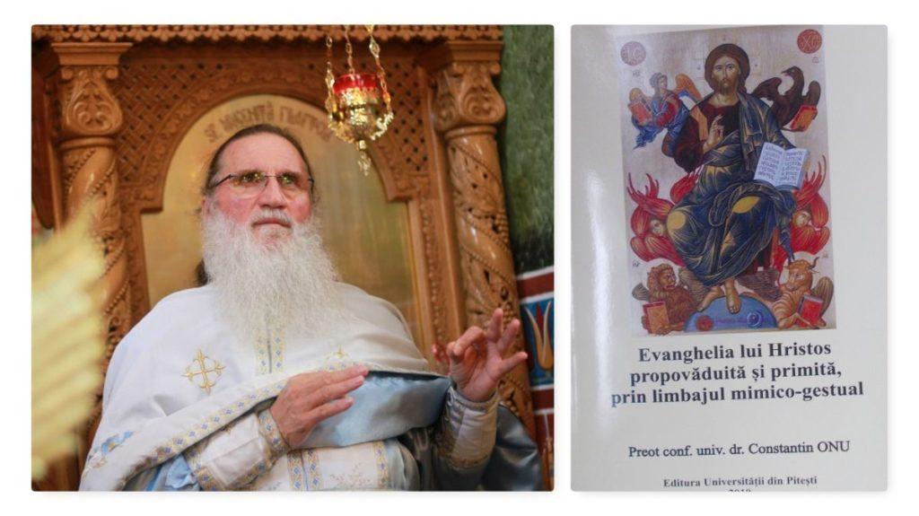 În prezenţa arhiereului, Părintele Onu a lansat cea de-a 23-a carte