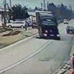 Incident ciudat la Călinești! Un bărbat a intrat sub roțile camionului