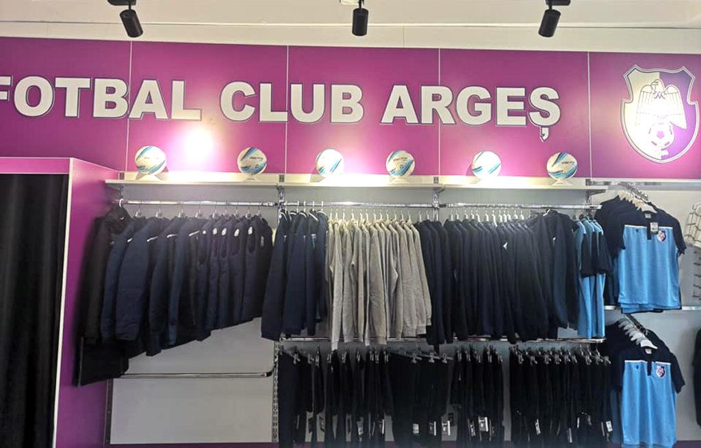 Magazinul FC Argeş, DESCHIDERE, astăzi