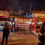 Incendiu la un restaurant din centrul Piteştiului