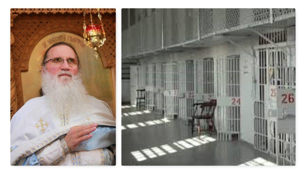 Părintele Onu va merge în mijlocul deţinuţilor cu cadouri!