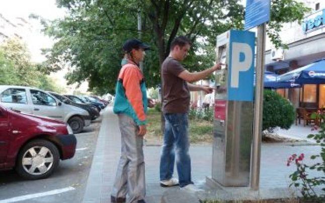 Locuri de parcare cu taxă pe Fraţii Goleşti