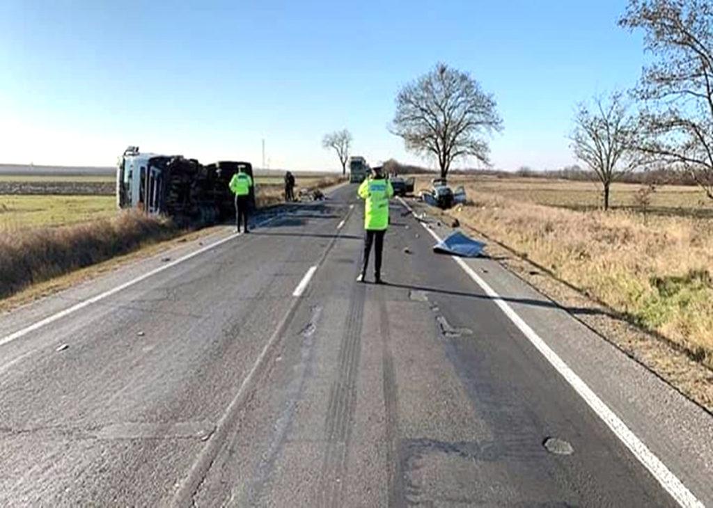 Fiica unui viceprimar, moartă în accident la Lăngeşti