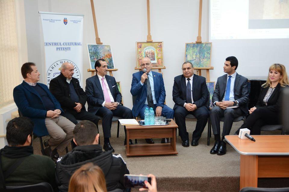 Ferestre culturale deschise pentru înfrăţirea Piteştiului cu un oraş din Regatul Haşemit al Iordaniei