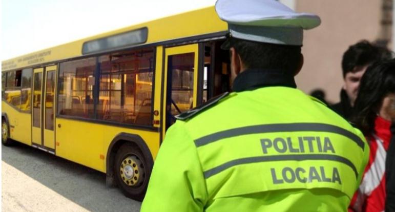 POLIŢIA LOCALĂ, CONTROALE ÎN AUTOBUZELE PUBLITRANS