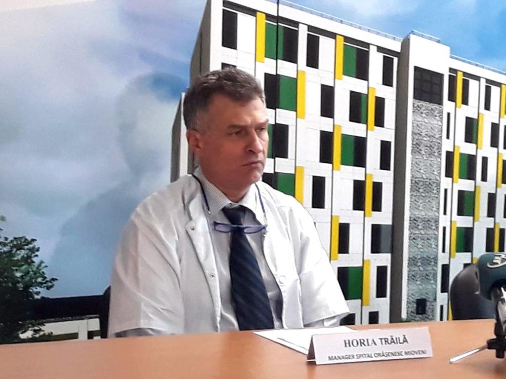 DOCTORUL TRĂILĂ SE OPEREAZĂ LA SPITALUL PE CARE-L CONDUCE