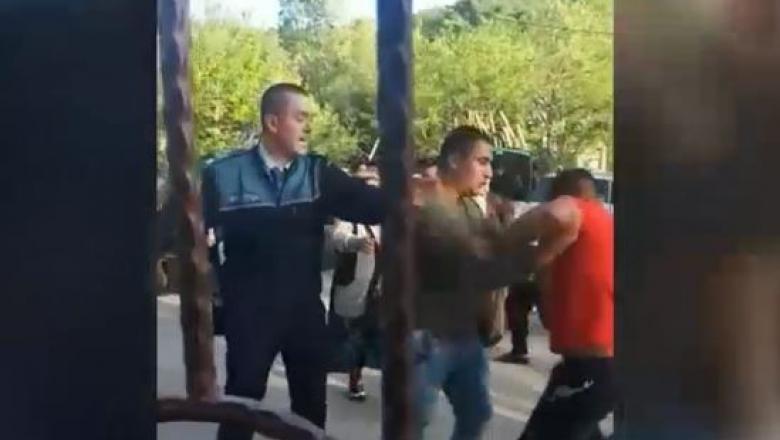 PUȘCĂRIE CU EXECUTARE FIINDCĂ A LOVIT O POLIȚISTĂ GRAVIDĂ