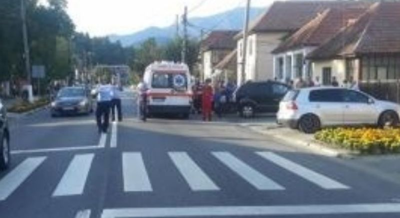 MINORĂ ACCIDENTATĂ LA DÂRMĂNEȘTI