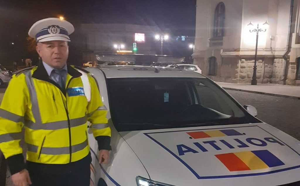 POLIȚIST SALVATOR AZI LA CÂMPULUNG