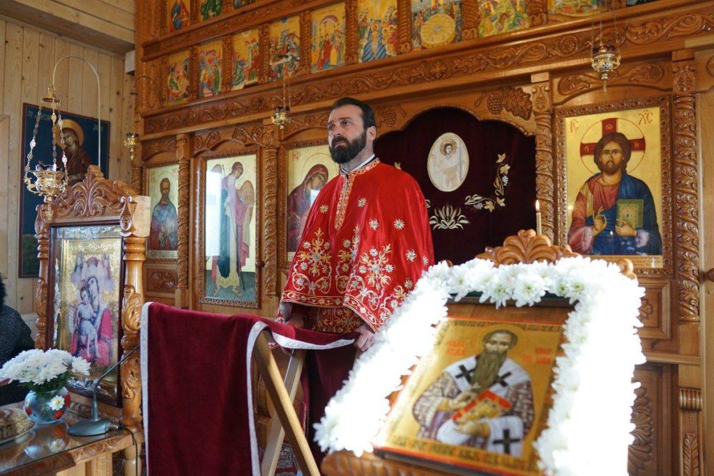 Arhimandritul Caliopie va veni la biserica