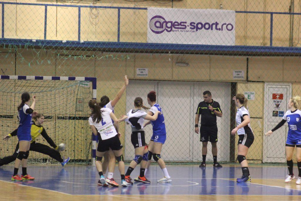 Astăzi, handbalistele din Mioveni dau piept cu o echipă de top