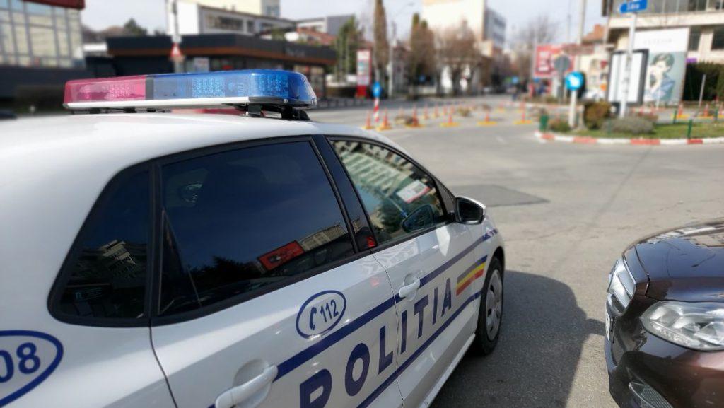 POLIȚIȘTII PICHETEAZĂ MAI