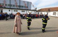 Simulare de incendiu la Liceul Tehnologic Topoloveni