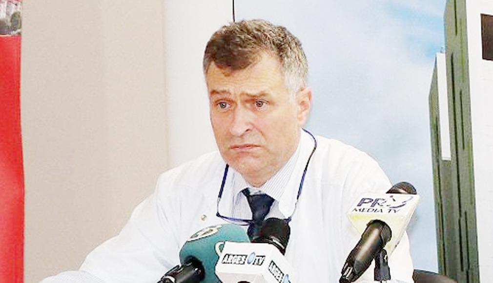 Horia Trăilă, managerul Spitalului Mioveni: