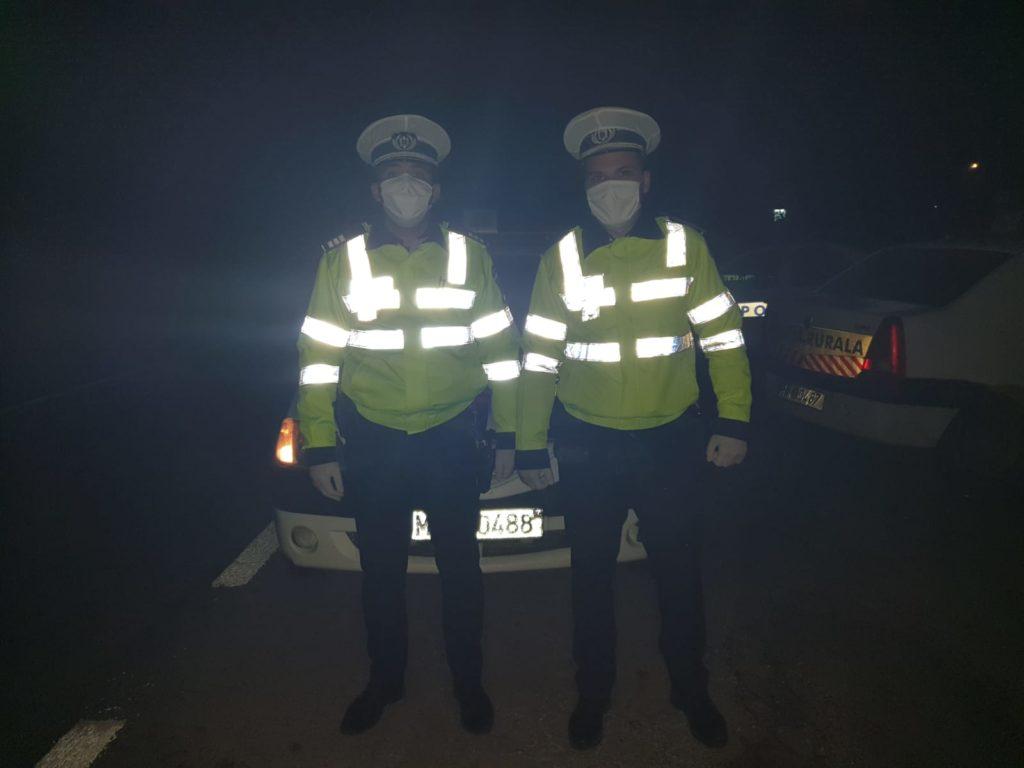 POLIŢIŞTI DIN LUNCA CORBULUI AU PUS LA PĂMÂNT AGRESORUL