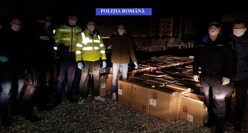 Contrabandist din Piteşti, sub control judiciar