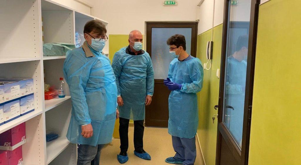 Alexandru Rafila, vizită AZI la Spitalul Judeţean