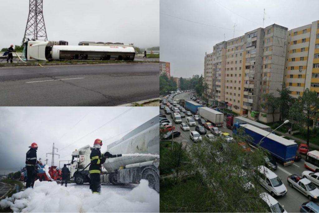 RISC DE EXPLOZIE, TRAFIC INFERNAL. CAUZELE ACCIDENTULUI DIN BASCOV