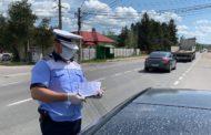 Sute de şoferi au fost amendaţi în weekend