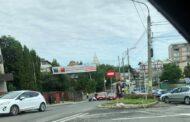 Pe strada Dumbravei - pieton accidentat pe marcaj