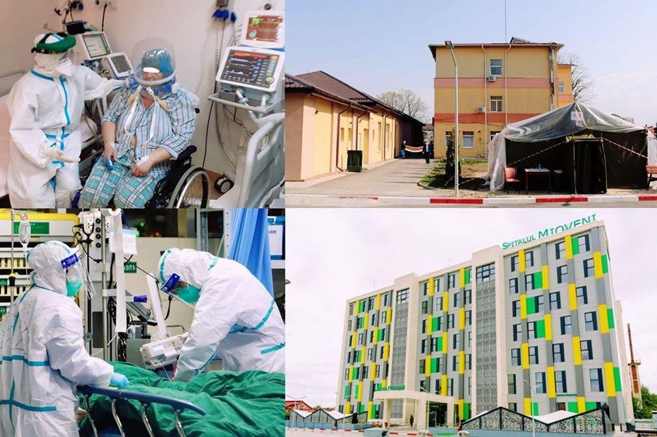 Încetează detaşările medicilor şi asistenţilor care au lucrat la secţia Covid de la Mioveni