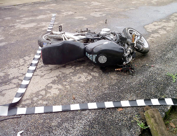 ACCIDENT GRAV LA BASCOV. DOUĂ PERSOANE DECEDATE. MOTOCICLETA NU ERA ÎNMATRICULATĂ
